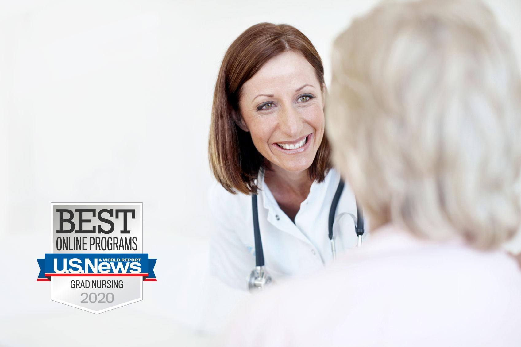 Graduate Nurse practicing in clinical setting
