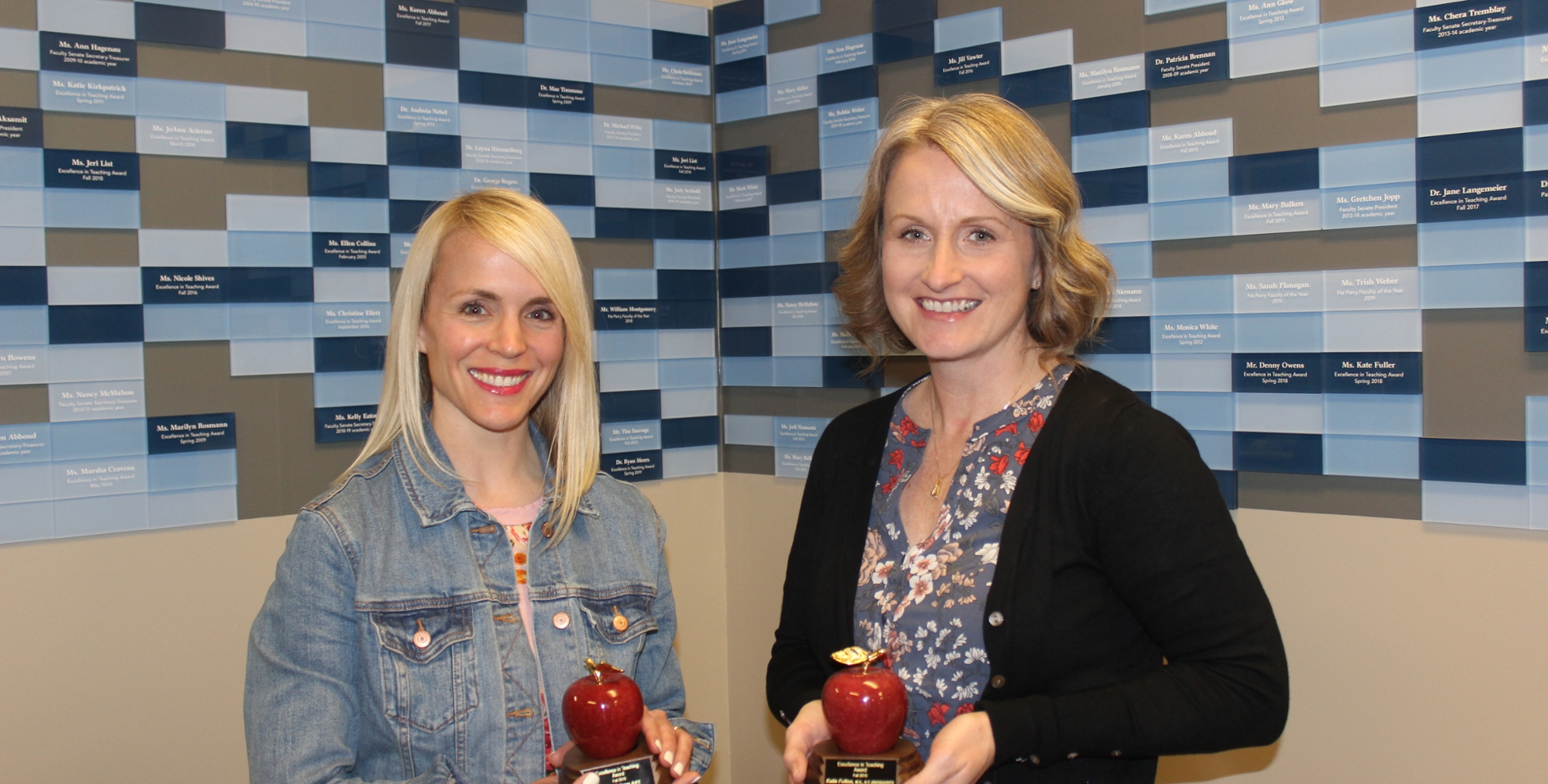 PTA and Radiography Faculty Earn Excellence in Teaching Awards