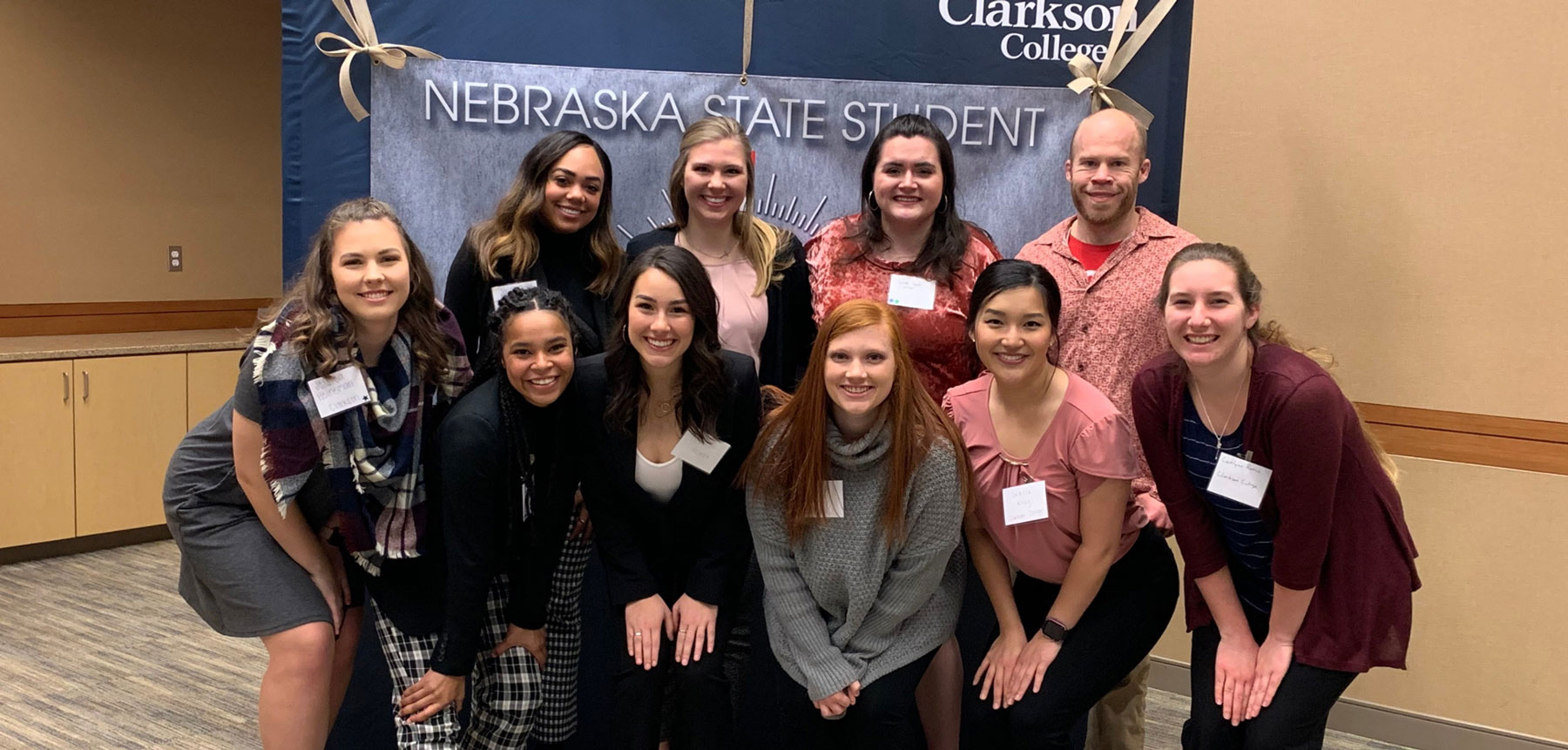 Student Nurses Make Connections During State Conference